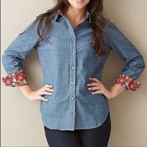 MATILDA JANE Liberty Shirt in Size Medium